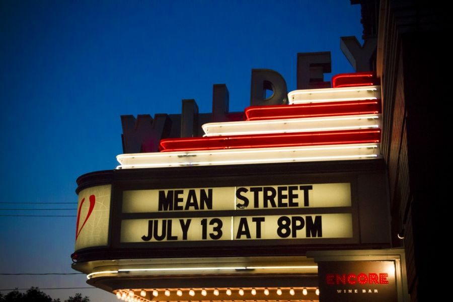 Wildey Marquee Highlighting Mean Street