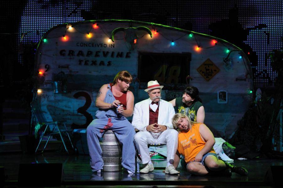 3 Redneck Tenors on Stage